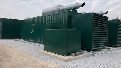 5mw Diesel Capactiy Market Site Installation