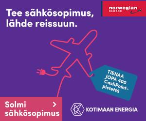 kotimaan energia norwegian sähkötarjous
