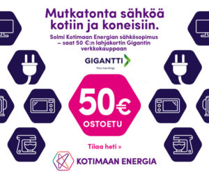 kotimaan energia pörssisähkö tarjous