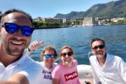 Subacco Tours on boat Como Lake 2