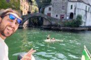 Subacco Tours on boat Como Lake 3