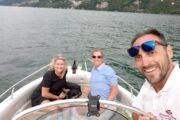 Subacco Tours on boat Como Lake 4