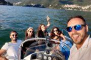 Subacco Tours on boat Como Lake 7