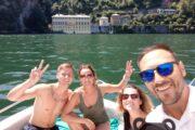 Subacco Tours on boat Como Lake 9