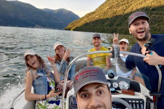 Gite in barca sul lago di Como