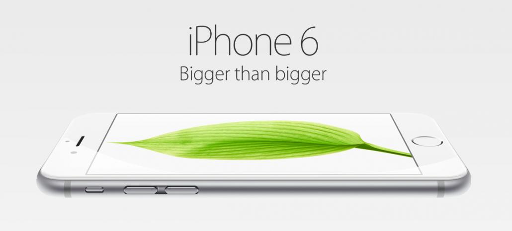 iPhone6 bigger than bigger