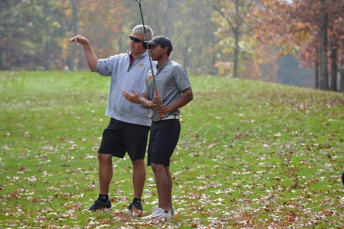College Golf and Journey to the US