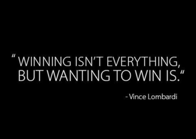 "Knowing how to ""win"" is important for your athletic development"