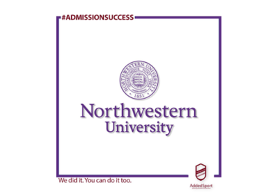 Planning your way to success – one client's journey to Northwestern's Class of 2025
