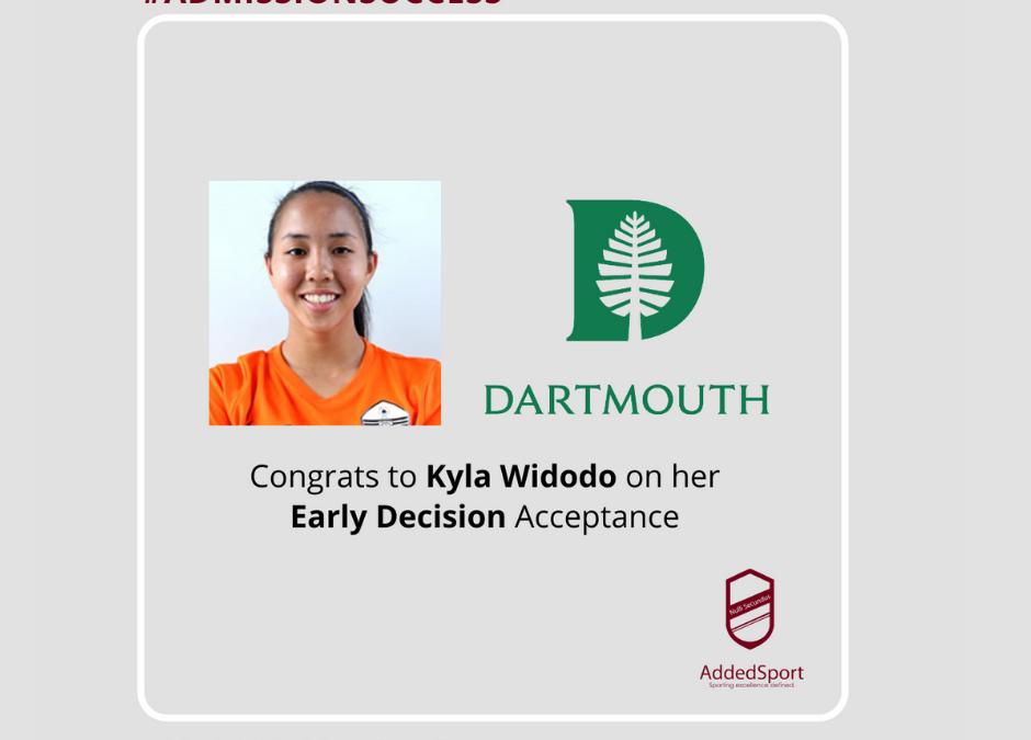 Dare to Dream: When Tenacity, Hard Work and Conviction take you to Dartmouth!