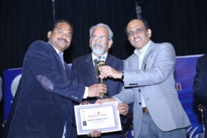 Award from Prof Y K Gupta, AIIMS, Delhi and Dr G N Singh-Drug Controller General of India