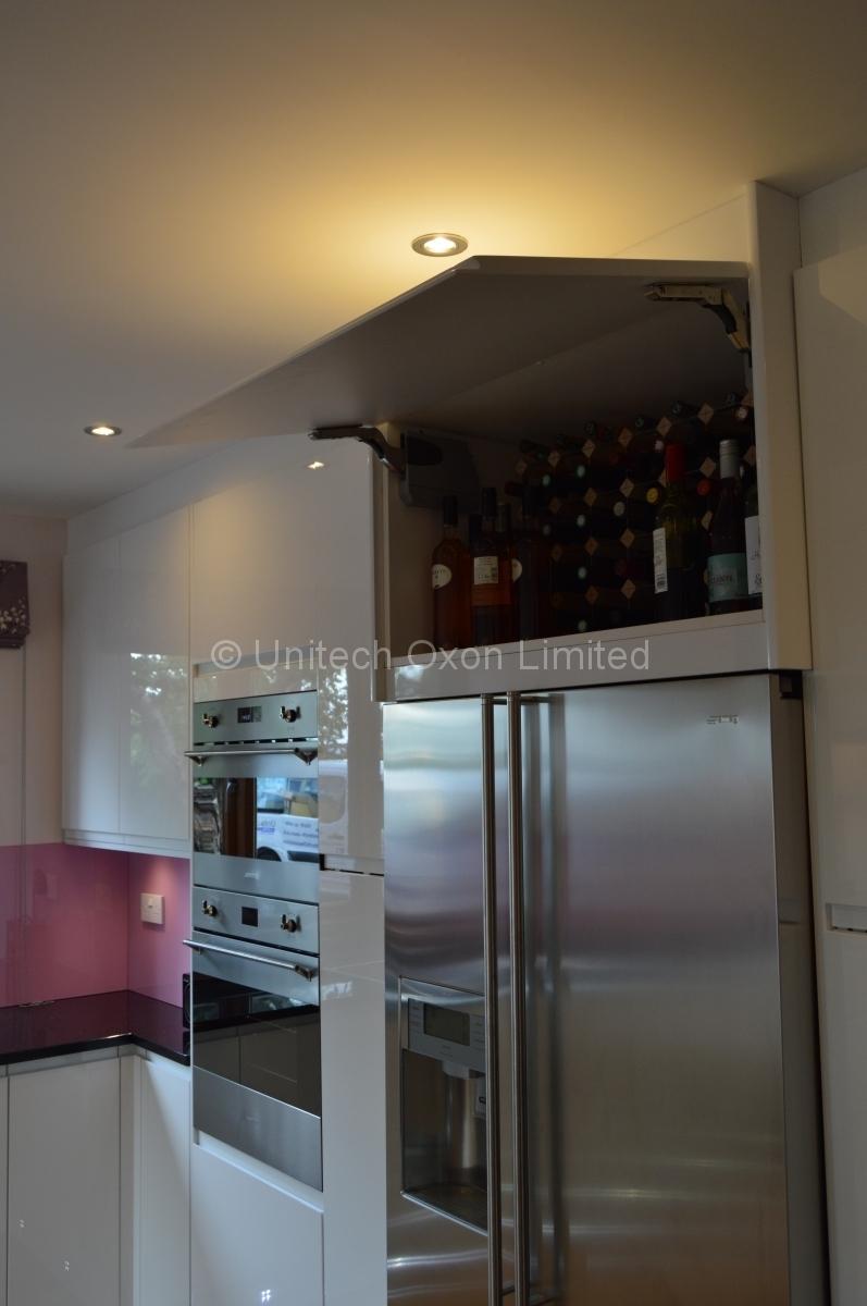 Burbidge Malmo Gloss White Contemporary Kitchen
