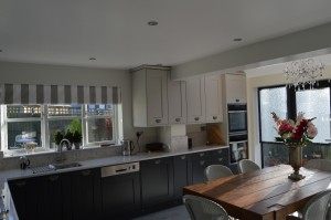 Burbidge Erin Charcoal and Soft Grey Traditional Kitchen