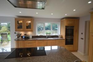 Burbidge Lansdowne Natural Oak Traditional Kitchen