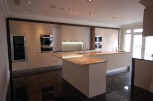 Metris Kitchens Textured Wenge Contemporary Kitchen