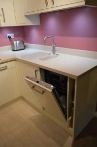 Second Nature Avant Alabaster Contemporary Kitchen