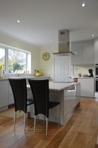Second Nature Remo Dove Grey Contemporary Kitchen