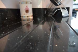 Second Nature Remo Gloss White Contemporary Kitchen