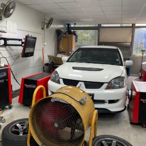 Dyno power run