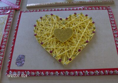 Heart Arts and Craft piece