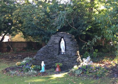 Grotto in the garden