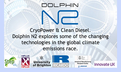 CryoPower & Clean Diesel. Dolphin N2 explores some of the changing technologies in the global climate emissions race.