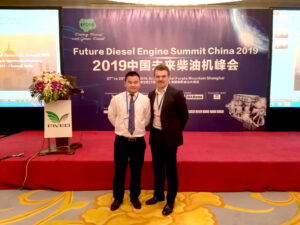 "Simon Brewster was invited to Chair the 2nd day of the summit by the organisers FIVEO. ""We cordially invite you to be our chairman of Day Two (2019.03.28) in terms of your prestige within the diesel world"" Draymond MA, Organizing Committee, FIVEO"