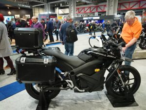 Zero DSR Black Forest New for this year, Zero have launched their Touring electric motorcycle.