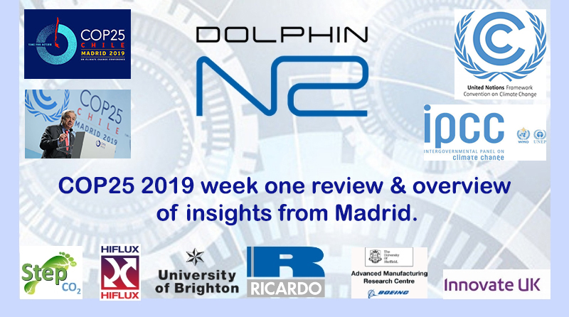 COP25 2019 week one review & overview of insights from Madrid.