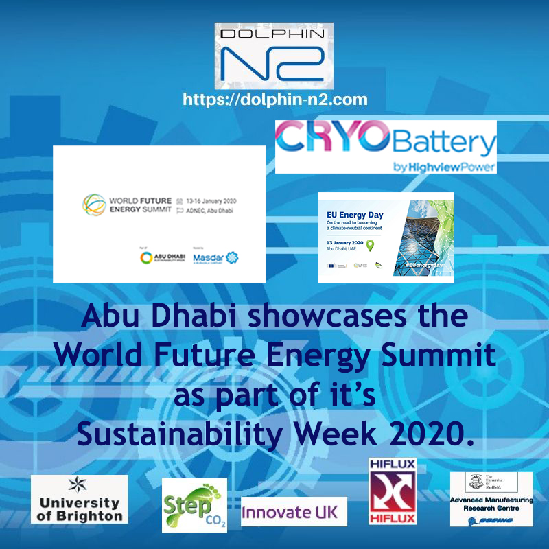 Abu Dhabi showcases WFES as part of it's Sustainability Week 2020