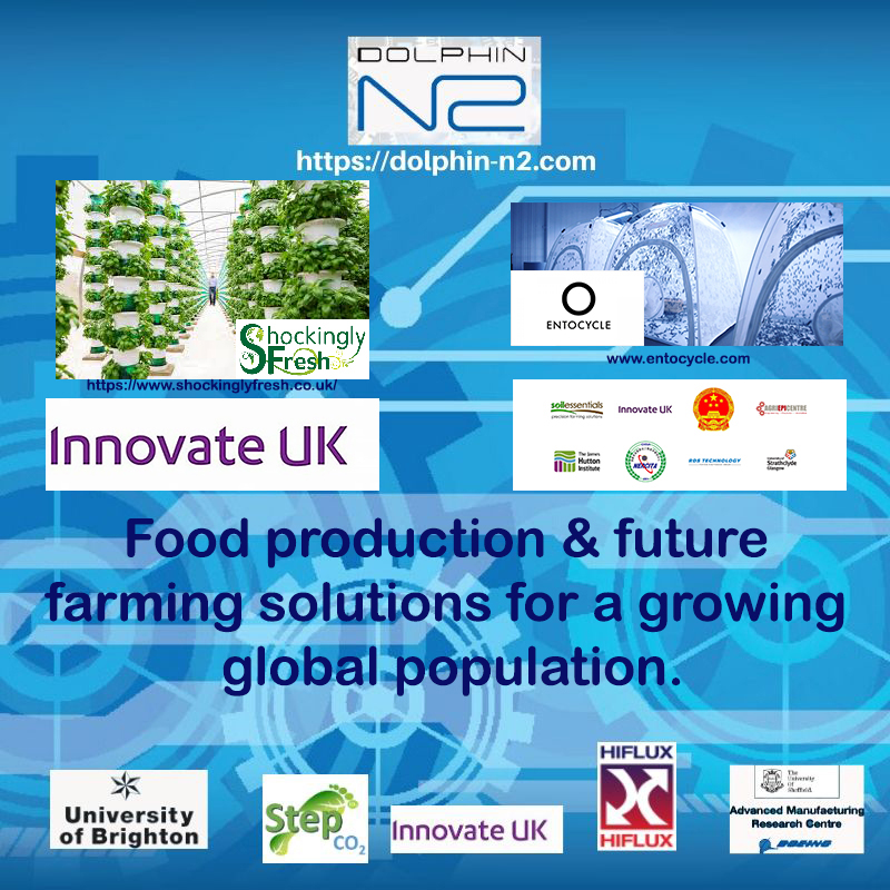 Food production & future farming solutions for a growing global population