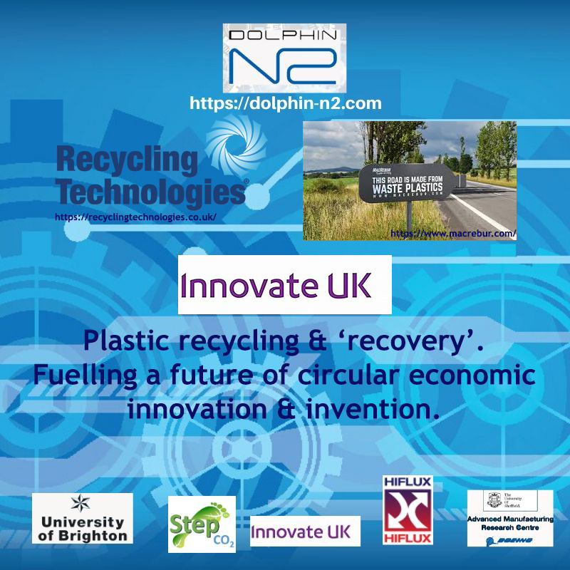 Plastic recycling & 'recovery'. Fuelling a future of circular economic innovation & invention.