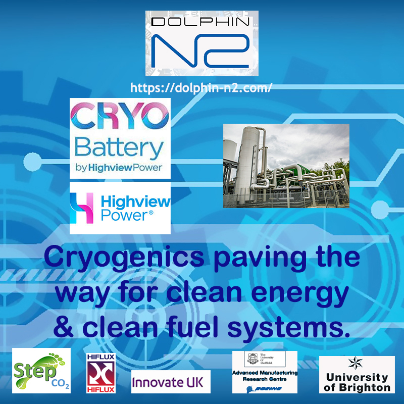 Cryogenics paving the way for clean energy & clean fuel systems