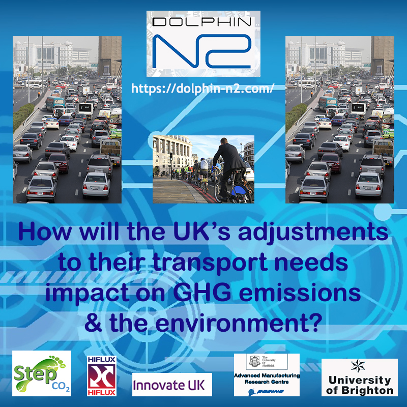 How will the UK's adjustments to their transport needs impact on GHG emissions & the environment?