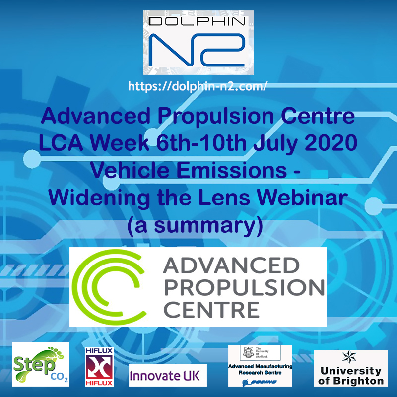 Today the APC launched LCAWeek & it's series of morning webinars to discuss how we look at the bigger picture, beyond just tailpipe emissions.