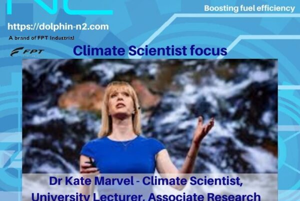 Climate Scientist focus. Dr Kate Marvel - Climate Scientist, University Lecturer, Associate Research Scientist.