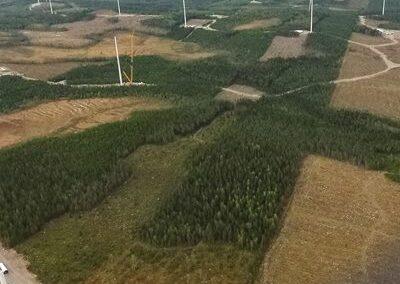 Högkölen Wind Farm, Sweden