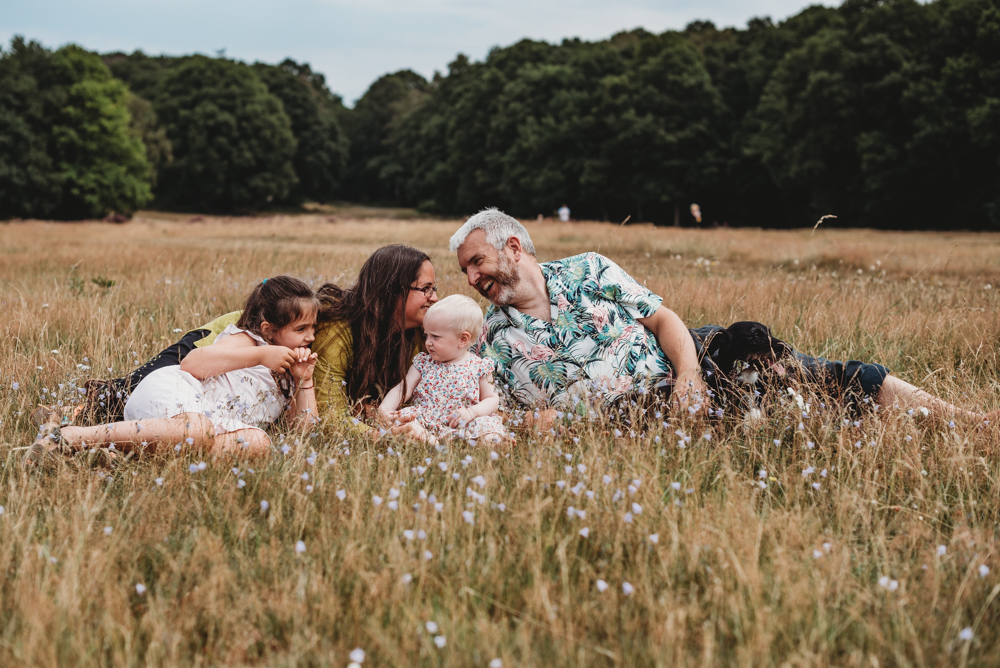 Hertfordshire Summer Family Photoshoot  -The Beale Family
