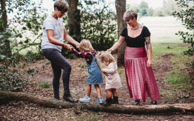 Same Sex Family Photoshoot – Chiltern Hills