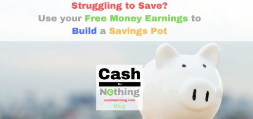 Free Money to Build a Savings Pot