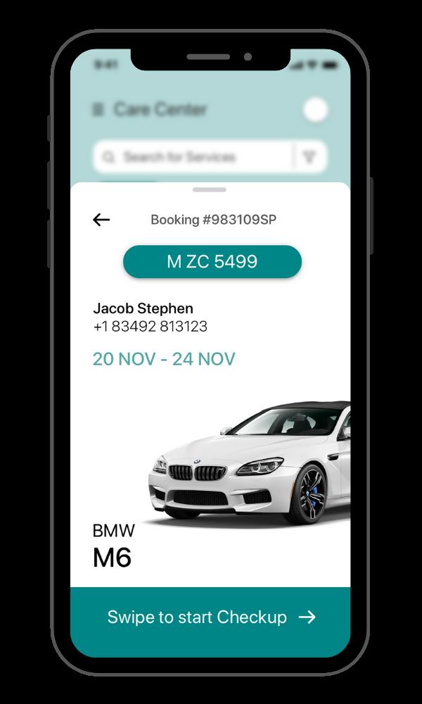 ClearQuote Fleet app screen
