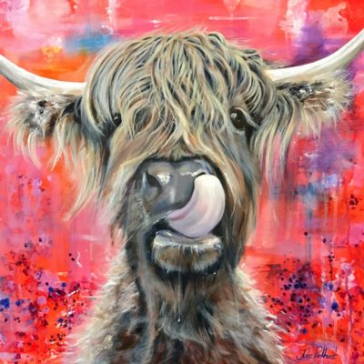 Highland Cow Brian Art Pankhurst Cards and Gifts
