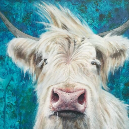 Highland Cow Patrick Art Pankhurst Cards and Gifts