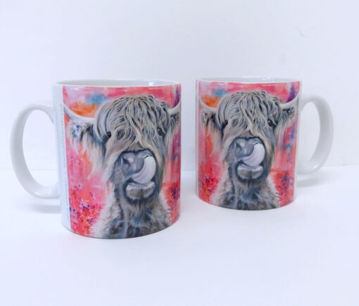 Highland Cow Brian Mug Gift Pankhurst Cards and Gifts
