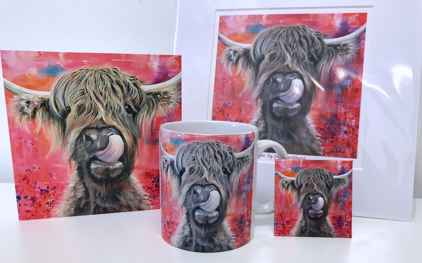 Highland Cow Brian Gift Collection Pankhurst Cards and Gifts
