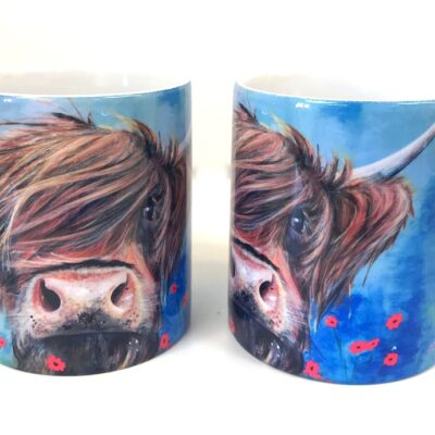 Highland Cow Bruce Mug Gift Pankhurst Cards and Gifts