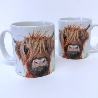 Highland Cow Dennis Mug Gift Pankhurst Cards and Gifts