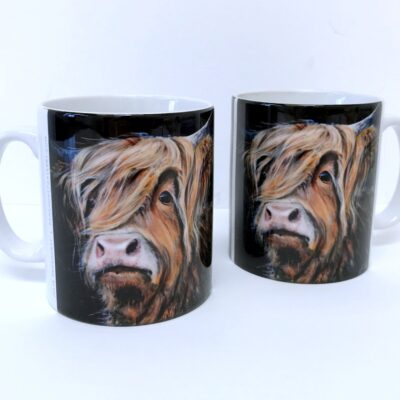 Highland Cow Duncan Mug Gift Pankhurst Cards and Gifts