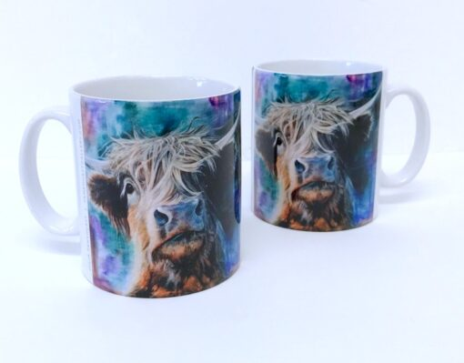 Highland Cow Hector Mug Gift Pankhurst Cards and Gifts