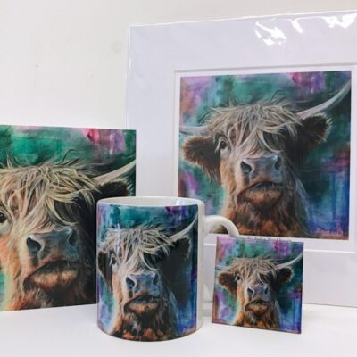 Highland Cow Hector Gift Collection Pankhurst Cards and Gifts